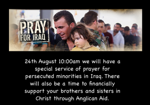 Prayer for Iraq