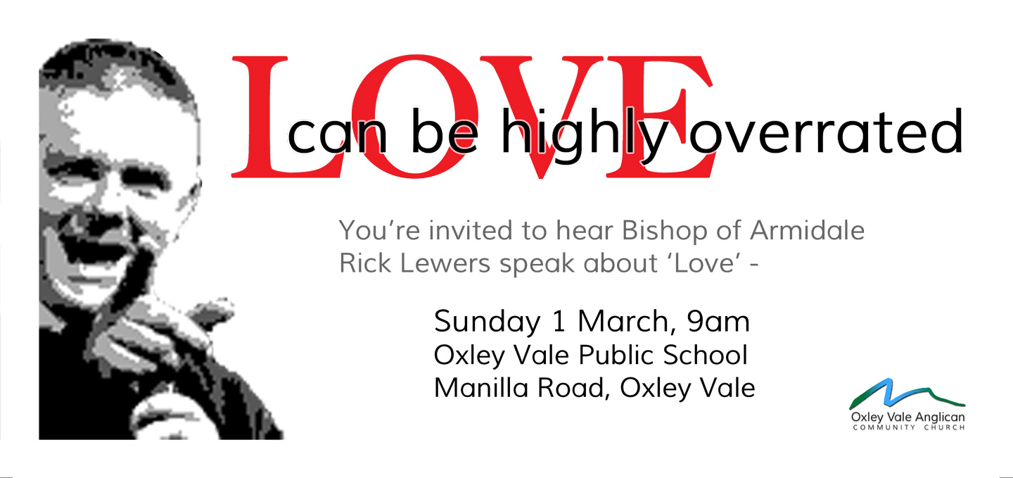 Bishop Rick Lewers speaks on LOVE