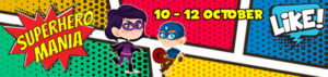 Click here to register for Superhero Mania kid's holiday club
